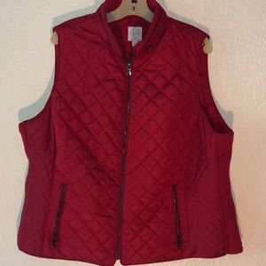 NWOT Dress Barn Quilted Vest Size 2X